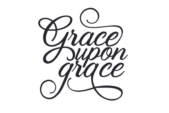 Download Free Grace Upon Grace Svg Cut File By Creative Fabrica Crafts for Cricut Explore, Silhouette and other cutting machines.