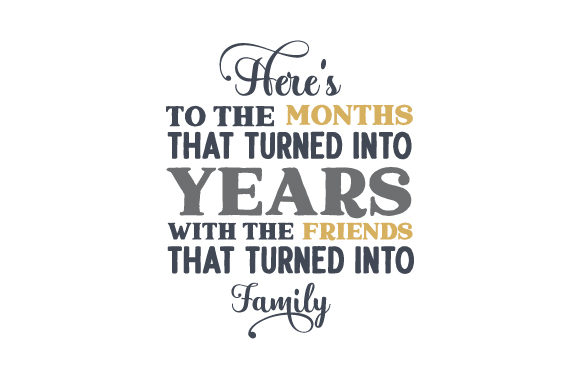 Family and Time Frases Archivo de Corte Craft Por Creative Fabrica Crafts
