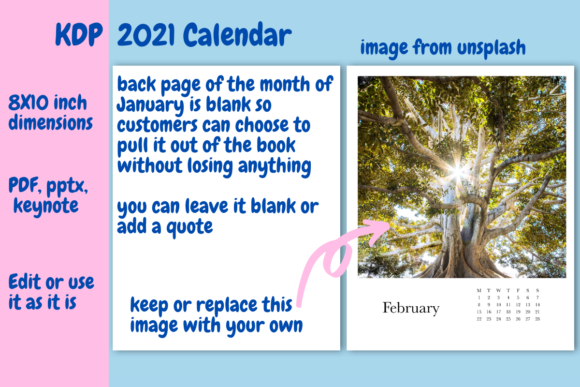 Download Free 2021 Calendar For Kdp Graphic By Income Plum Creative Fabrica for Cricut Explore, Silhouette and other cutting machines.