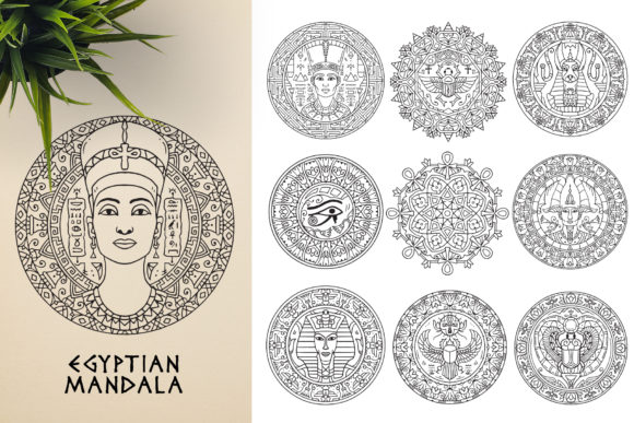 300 Mandala Ornaments Graphic Illustrations By pixaroma - Image 6