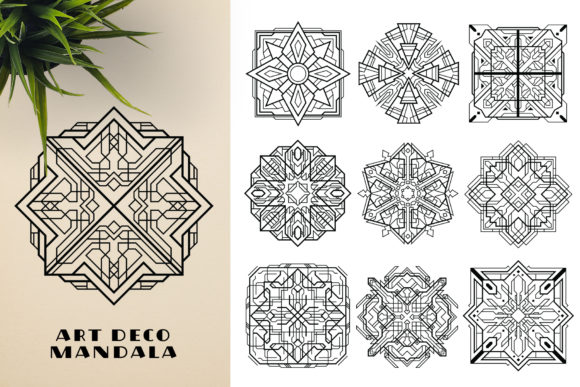 300 Mandala Ornaments Graphic Illustrations By pixaroma - Image 9