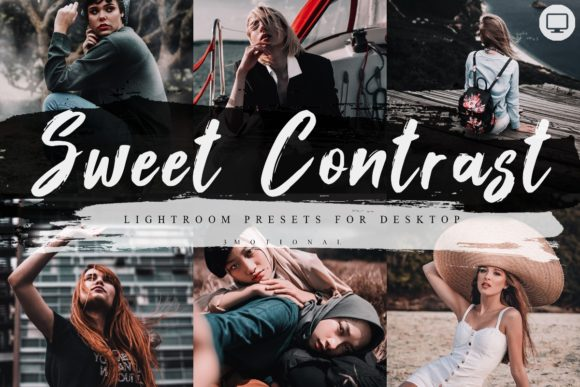 Download Free 5 Sweet Contrast Lightroom Presets Graphic By 3motional for Cricut Explore, Silhouette and other cutting machines.