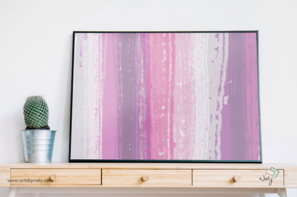 Download Free Abstract Lavender Printable Painting Graphic By Artsbynaty Creative Fabrica for Cricut Explore, Silhouette and other cutting machines.