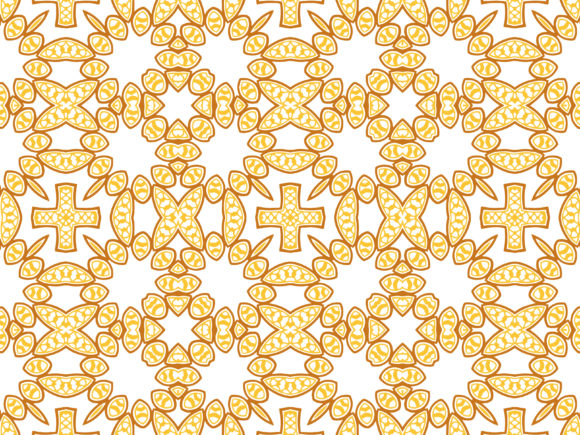 Abstract Pattern Gold Elegant Design Graphic By Vectorceratops