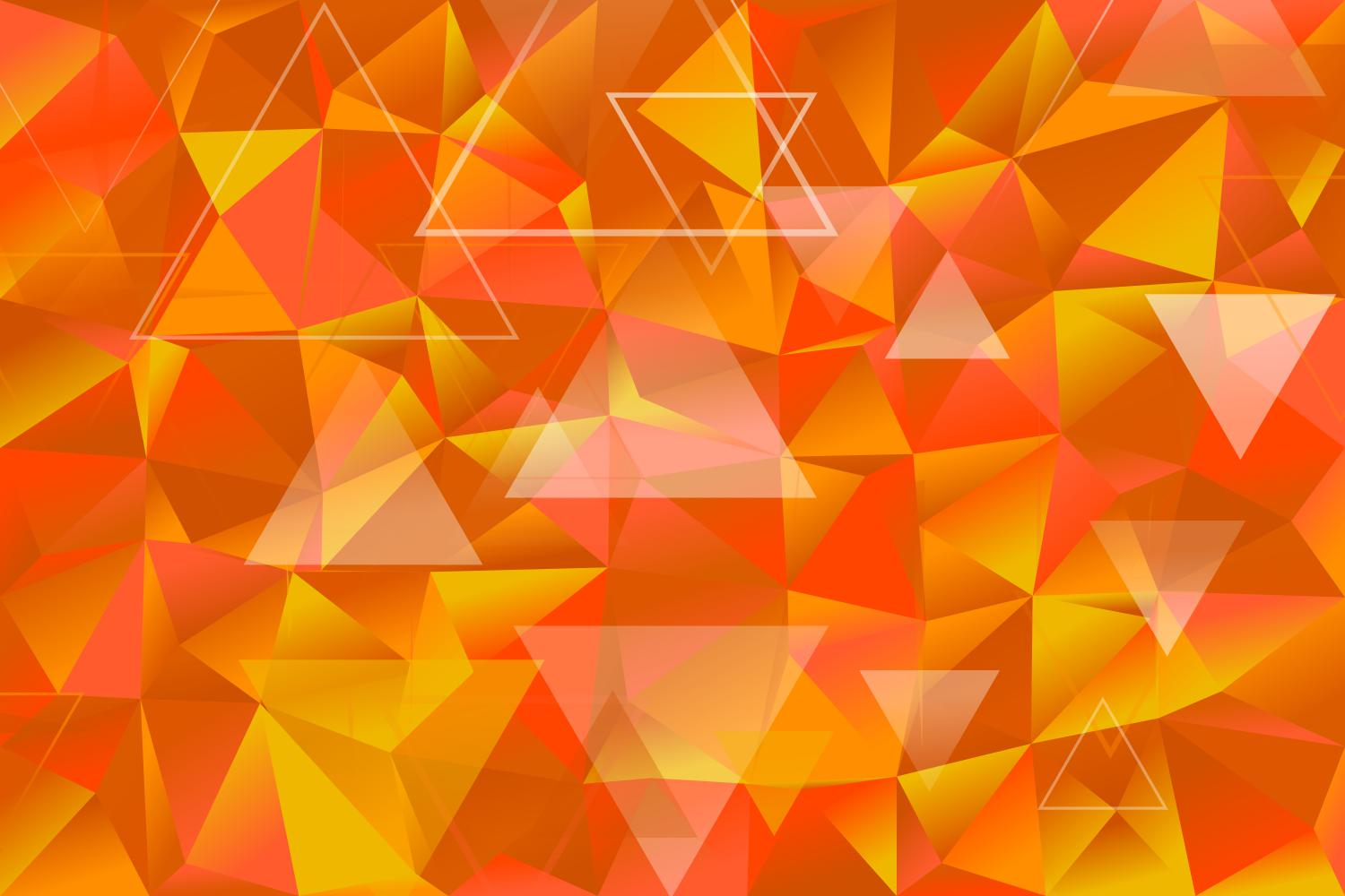 Download Free Abstract Triangle Web Background Graphic By Davidzydd Creative for Cricut Explore, Silhouette and other cutting machines.