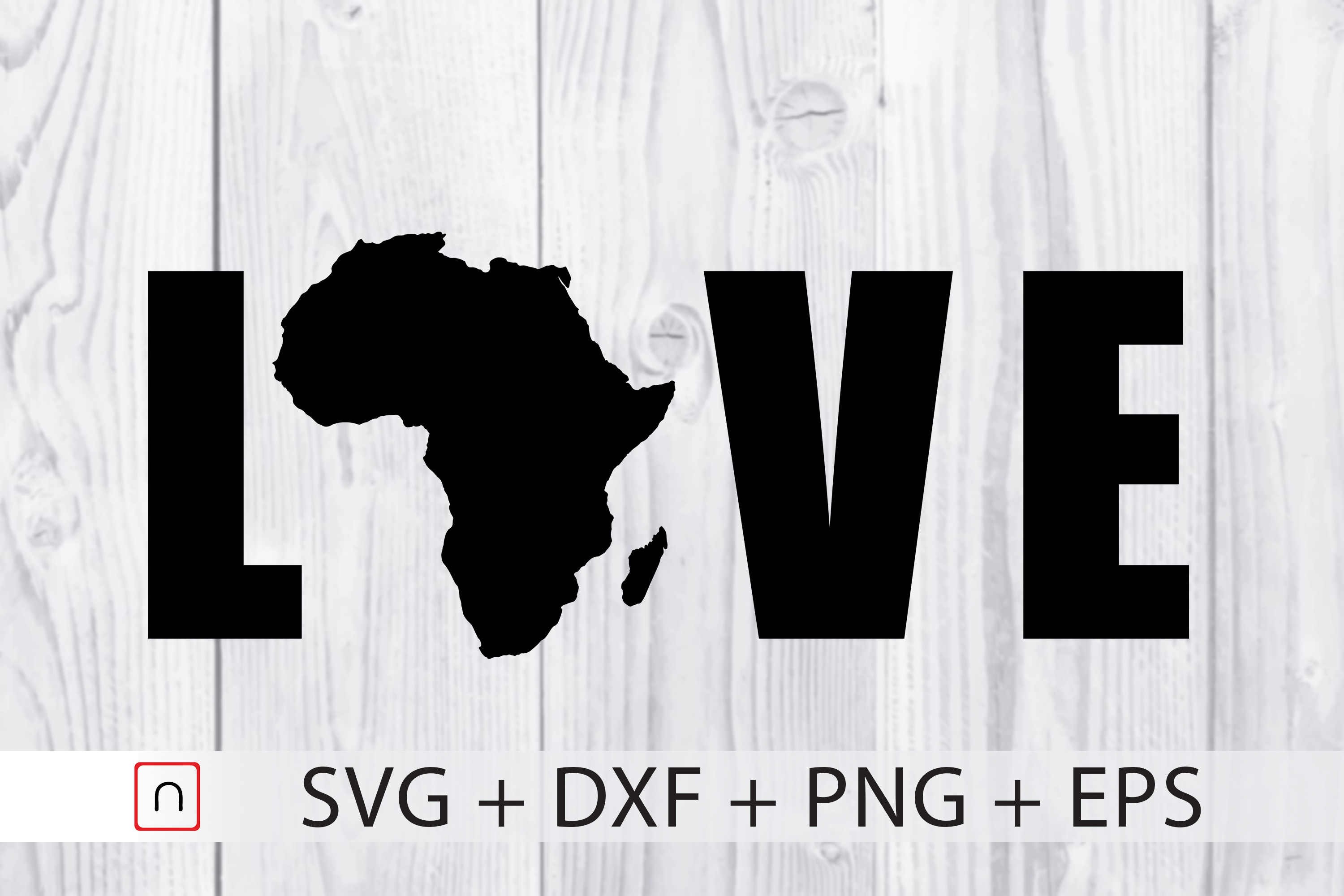Download Free Map Love Africa Graphic By Novalia Creative Fabrica for Cricut Explore, Silhouette and other cutting machines.