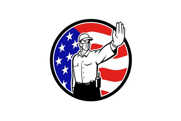 Download Free American Border Patrol Officer Wearing F Graphic By Patrimonio for Cricut Explore, Silhouette and other cutting machines.