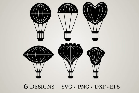 Download Free Balloon Bundle Graphic By Euphoria Design Creative Fabrica for Cricut Explore, Silhouette and other cutting machines.