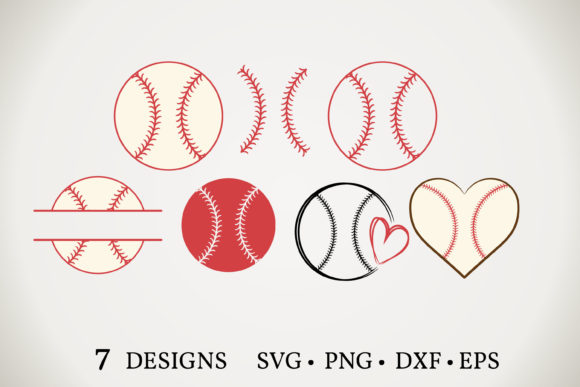 Baseball Bundle Graphic Print Templates By Euphoria Design