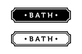 Download Free Bath Label Graphic By Handriwork Creative Fabrica for Cricut Explore, Silhouette and other cutting machines.