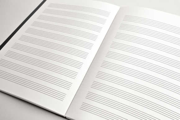 Download Free Blank Sheet Music Kdp Interior Graphic By Kdp Product for Cricut Explore, Silhouette and other cutting machines.