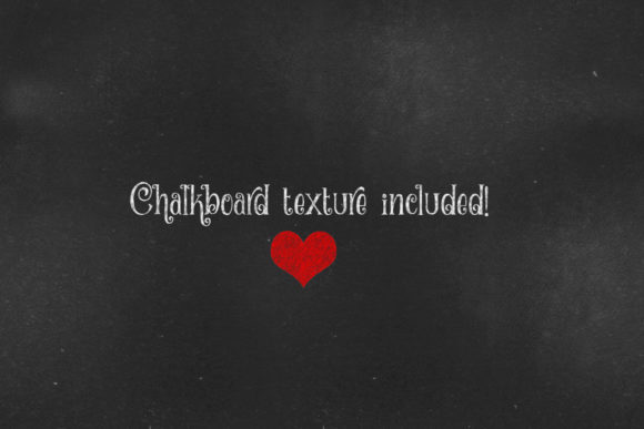 Print on Demand: Chalkboard Rainbow Hearts and Stars Graphic Illustrations By Digital Curio - Image 2