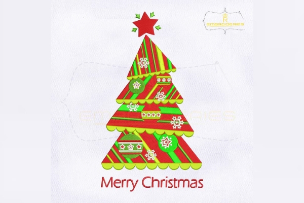 Download Free Chevron Striped Split Christmas Tree Creative Fabrica for Cricut Explore, Silhouette and other cutting machines.
