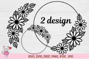 Daisy Flower Graphic Illustrations By  Magic world of design