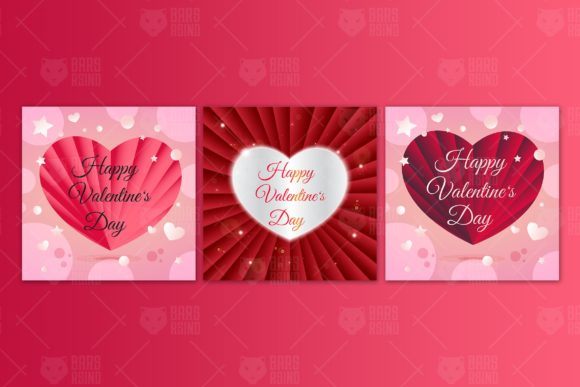 Download Free Delicate Hearts For Valentine S Day Graphic By Barsrsind Creative Fabrica for Cricut Explore, Silhouette and other cutting machines.