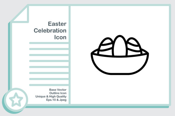 Download Free Easter Celebration Cross Graphic By Noumineomi Creative Fabrica for Cricut Explore, Silhouette and other cutting machines.