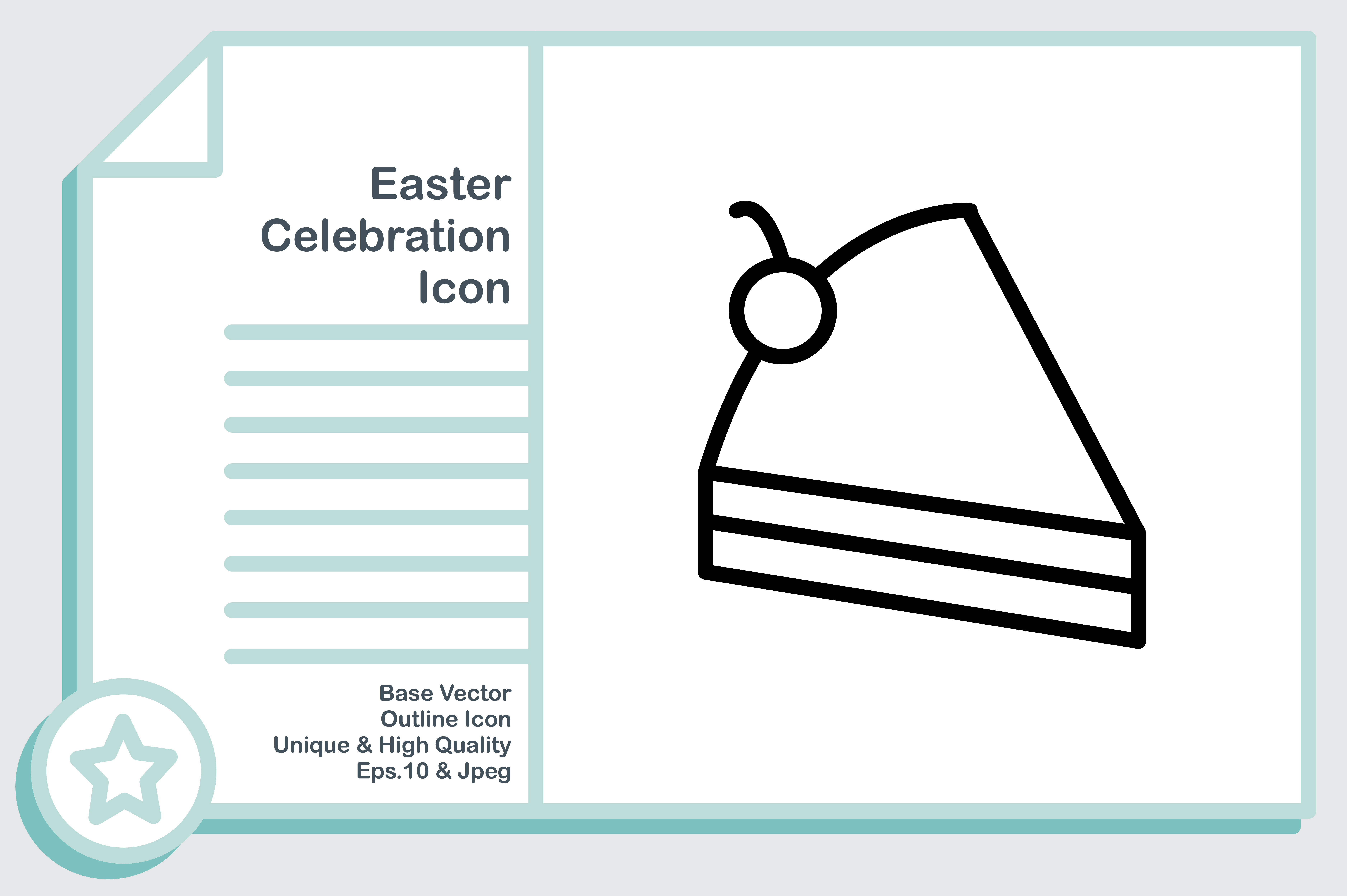Download Free Easter Celebration Cake Graphic By Noumineomi Creative Fabrica for Cricut Explore, Silhouette and other cutting machines.