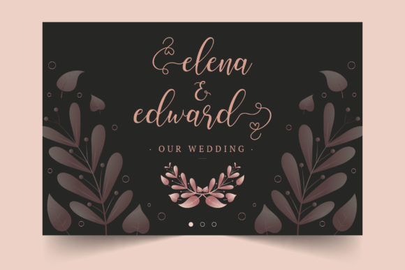 Download Free Ellise Font By Brandsemut Creative Fabrica for Cricut Explore, Silhouette and other cutting machines.