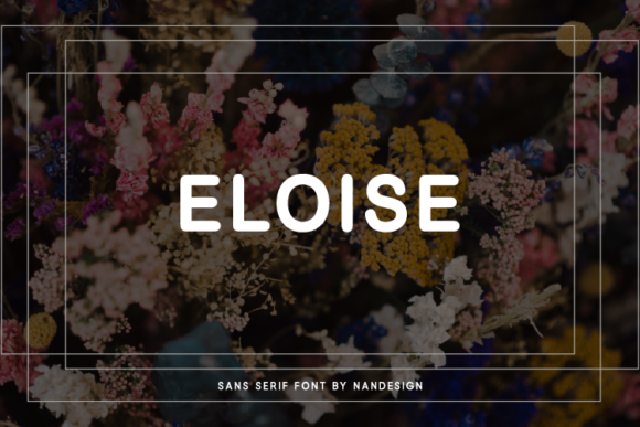 Print on Demand: Eloise Sans Serif Font By Nan Design