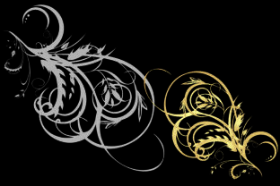 Print on Demand: European Gold Frame Vector Graphic Backgrounds By ART Design