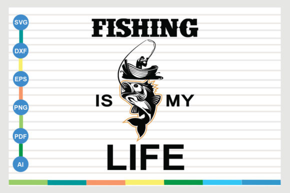 Fishing Design Graphic Crafts By sajidmajid441
