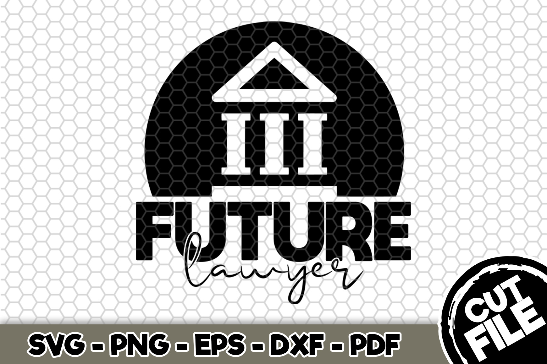 Download Free Future Lawyer Graphic By Svgexpress Creative Fabrica for Cricut Explore, Silhouette and other cutting machines.