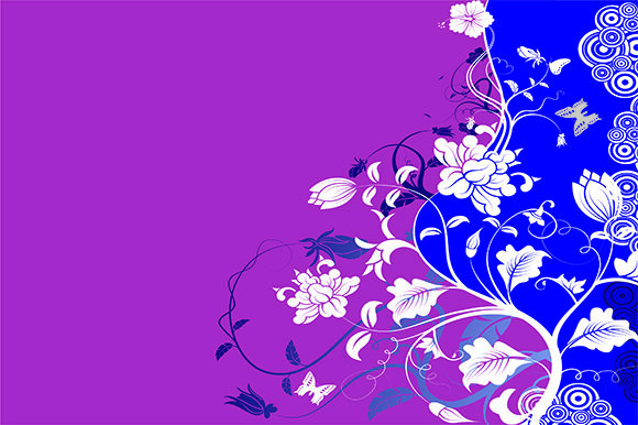 Gorgeous Fashion Flower Background Graphic Backgrounds By ART Design