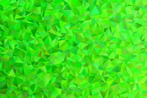 Green Chaotic Triangle Background Graphic Backgrounds By davidzydd