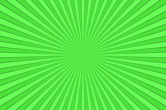 Green Ray Burst Background Graphic Backgrounds By davidzydd