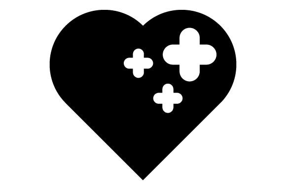 Download Free 10 Broken Heart Designs Graphics for Cricut Explore, Silhouette and other cutting machines.