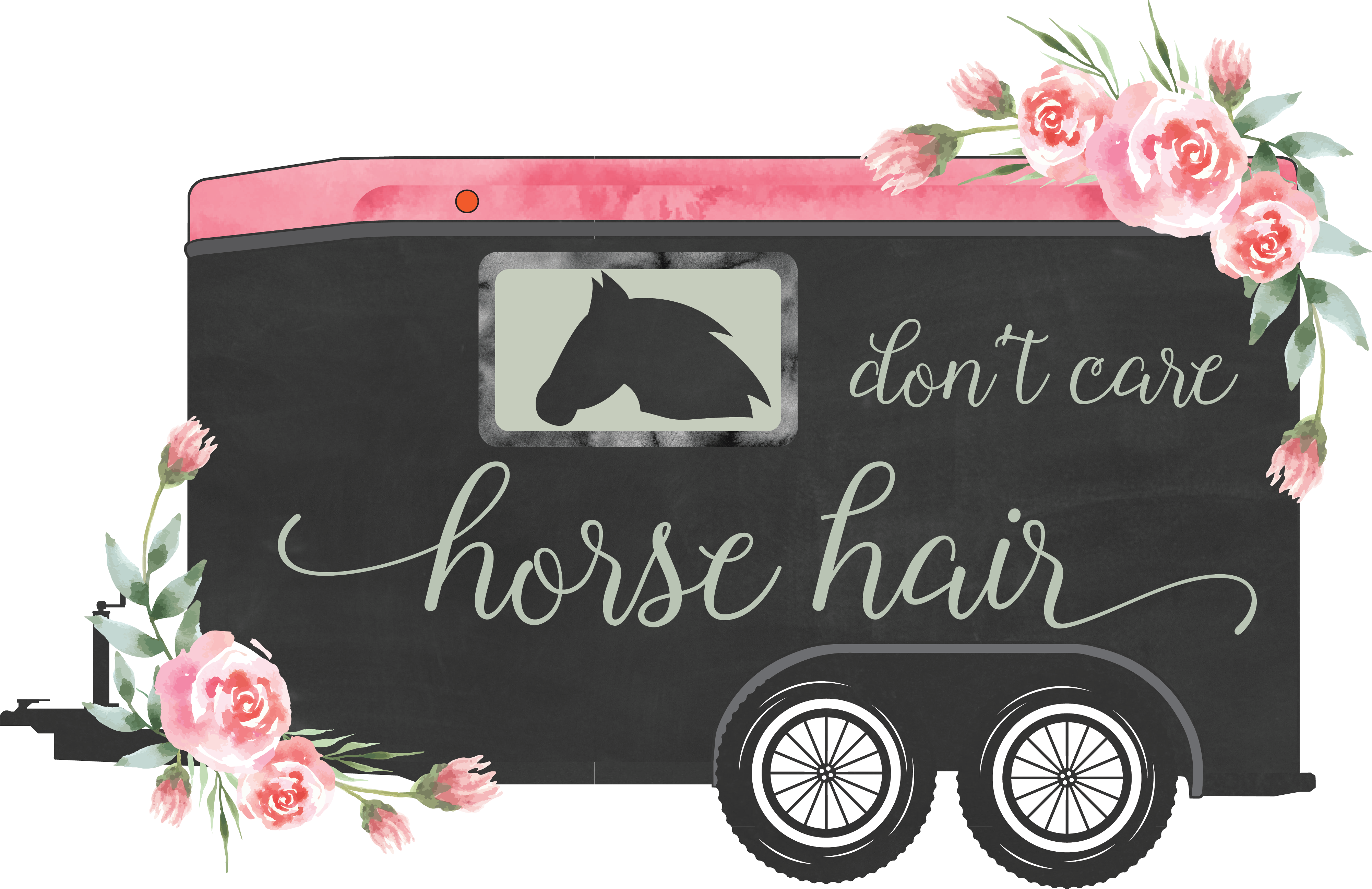 Download Free Horse Trailer Transparent Quote Graphic By Shepixel Creative for Cricut Explore, Silhouette and other cutting machines.