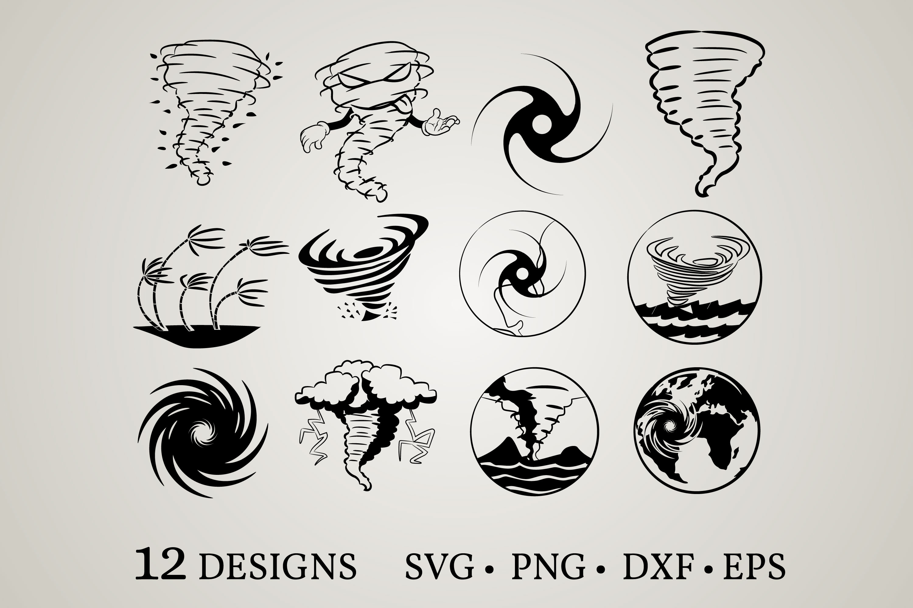 Download Free Hurricane Bundle Graphic By Euphoria Design Creative Fabrica for Cricut Explore, Silhouette and other cutting machines.