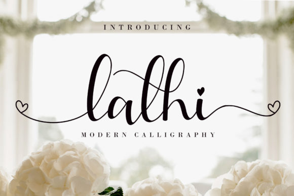 Print on Demand: Lathi Script & Handwritten Font By AEN Creative Studio