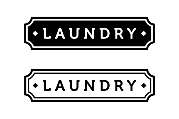Download Free Laundry Label Graphic By Handriwork Creative Fabrica for Cricut Explore, Silhouette and other cutting machines.