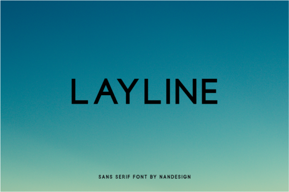 Print on Demand: Layline Sans Serif Font By Nan Design