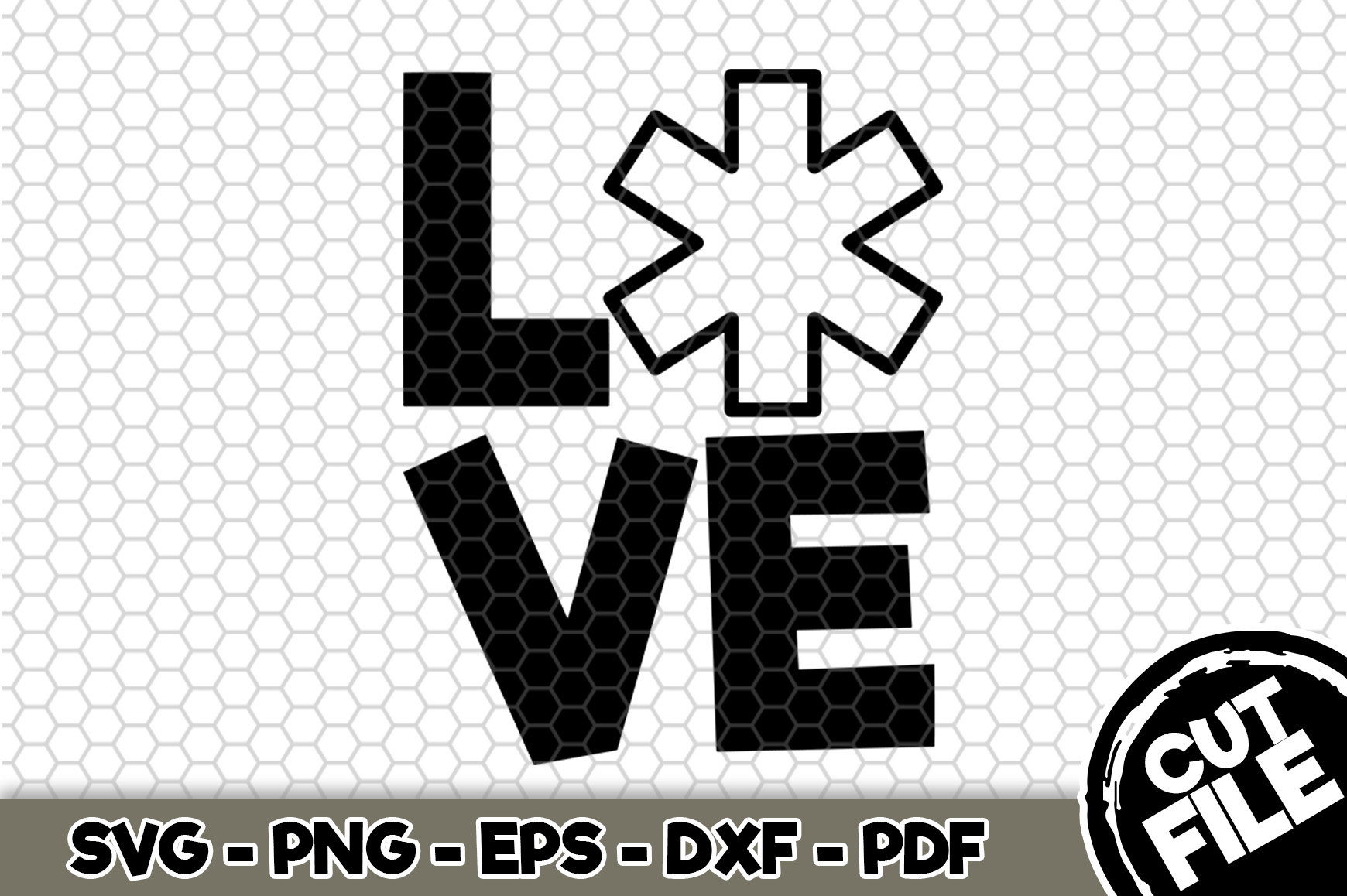 Download Free Love Paramedic Grafico Por Svgexpress Creative Fabrica for Cricut Explore, Silhouette and other cutting machines.