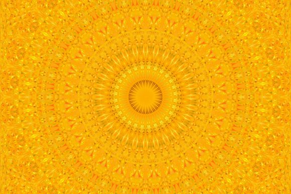 Download Free Orange Seamless Mandala Pattern Graphic By Davidzydd Creative for Cricut Explore, Silhouette and other cutting machines.