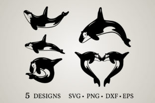 Orca Bundle Graphic Crafts By Euphoria Design