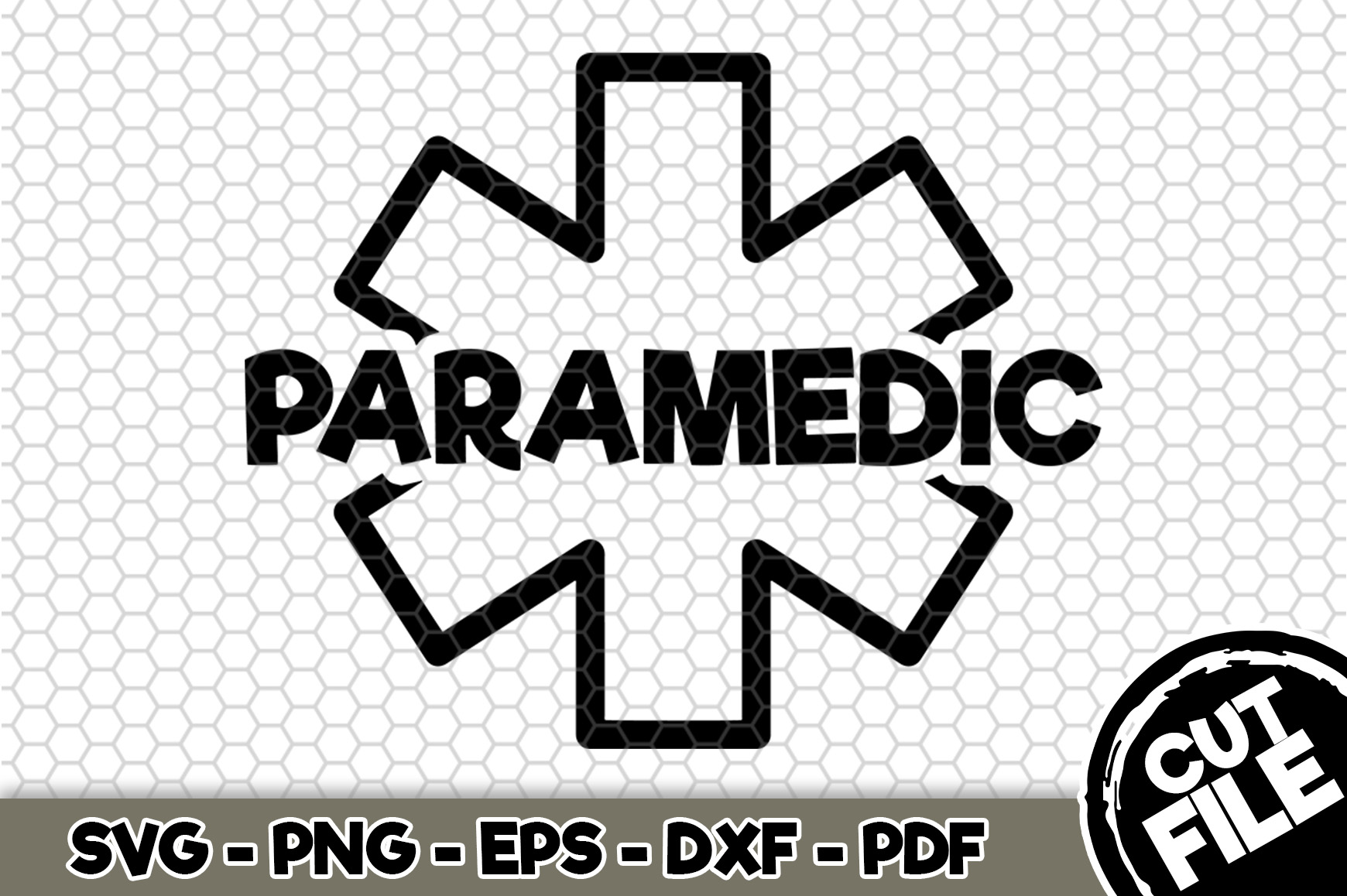 Download Free Paramedic Craft File Graphic By Svgexpress Creative Fabrica for Cricut Explore, Silhouette and other cutting machines.