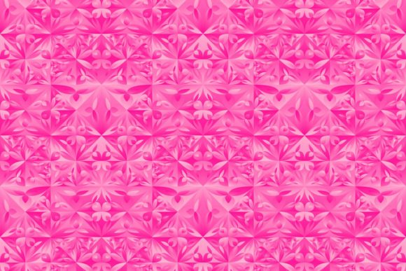 Download Free Pink Seamless Gradient Floral Pattern Graphic By Davidzydd for Cricut Explore, Silhouette and other cutting machines.