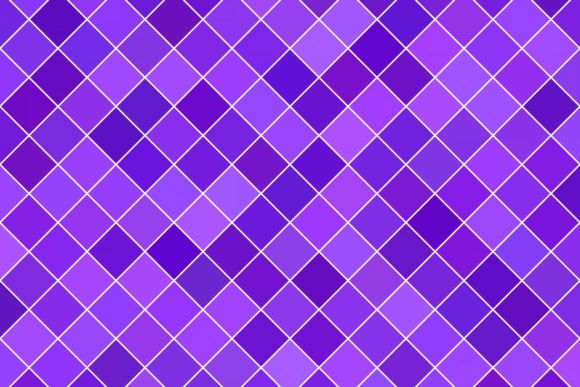 Purple Geometric Square Pattern Graphic Patterns By davidzydd