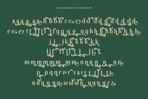 Print on Demand: Retrophilia Display Font By AllmoStudio - Image 10