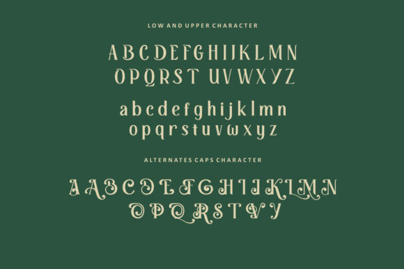 Print on Demand: Retrophilia Display Font By AllmoStudio - Image 8