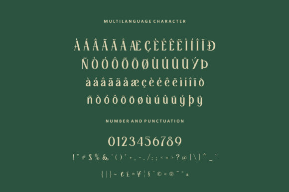 Print on Demand: Retrophilia Display Font By AllmoStudio - Image 9