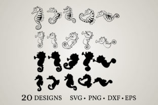 Download Free Seahorse Bundle Graphic By Euphoria Design Creative Fabrica SVG Cut Files