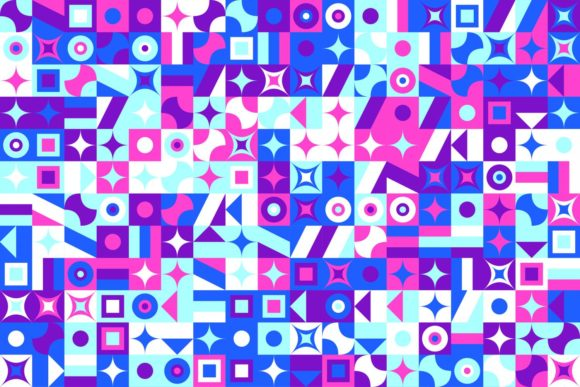 Seamless Mosaic Tile Pattern Graphic Patterns By davidzydd