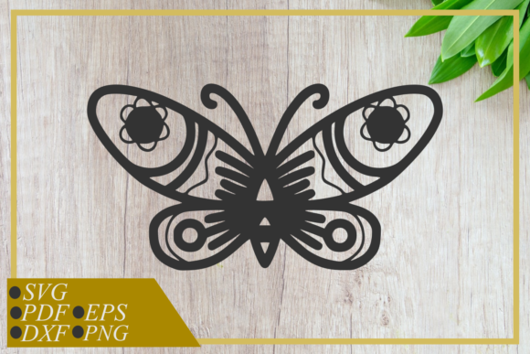 Download Free 5 Butterfly Cut File Designs Graphics for Cricut Explore, Silhouette and other cutting machines.