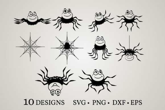 Spider Bundle Graphic