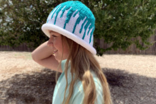 Splash Beanie Knit Pattern Graphic Knitting Patterns By Knit and Crochet Ever After
