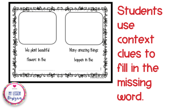 Spring Compound Word Book Graphic 1st grade By My Lesson Designer - Image 3